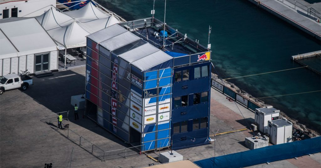 HANGAR X - Red Bull Air Race 2018 Control Tower