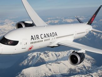 HANGAR X News - Boeing 787-9 Air Canada in flight