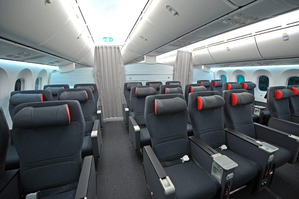 HANGAR X - Air Canada Premium Economy