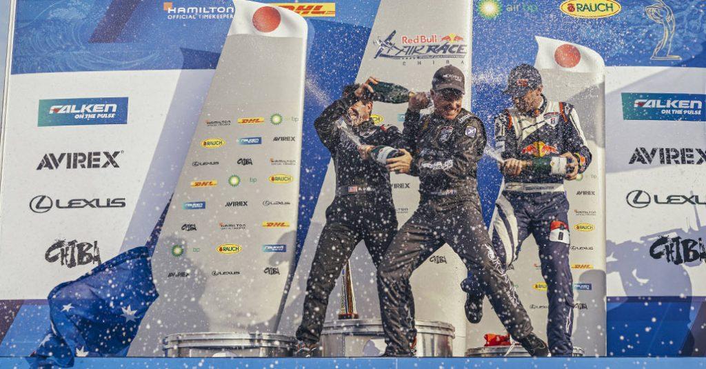 HANGAR X - Red Bull Air Race 2018 – Matt Hall suma otra victoria en Japón