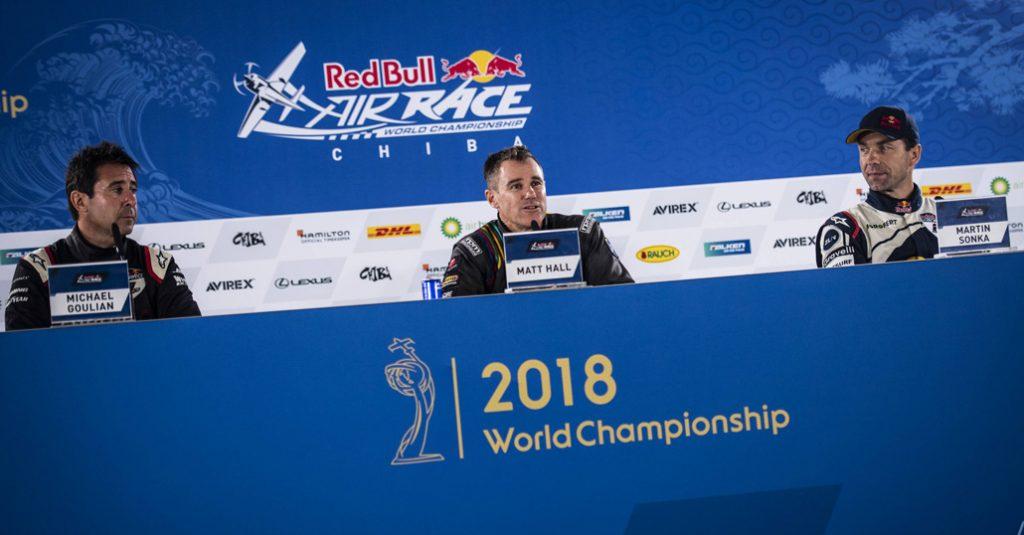 HANGAR X - Red Bull Air Race 2018, Chiba – Matt Hall