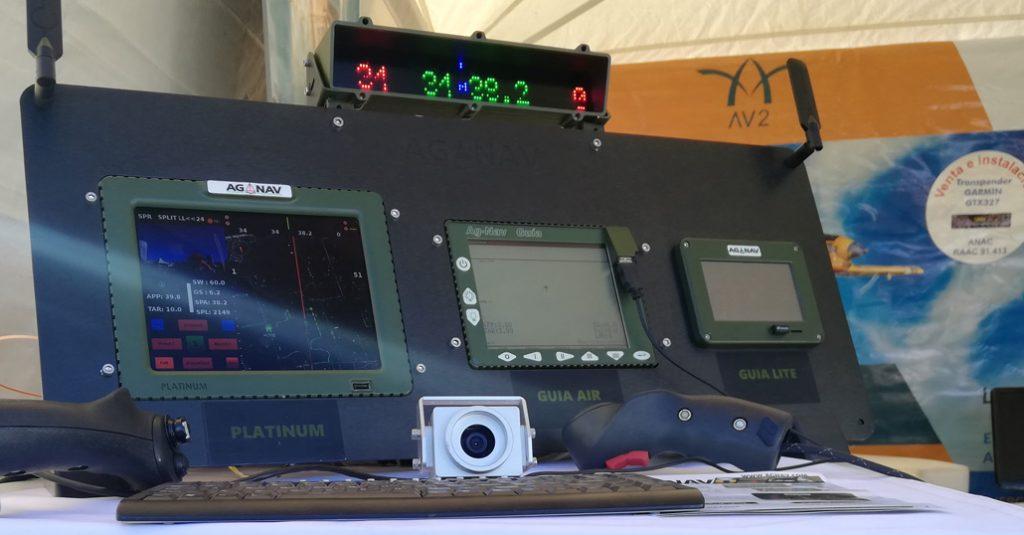 HANGAR X - AG-NAV en Aeroaplica 2018 junto a AV2