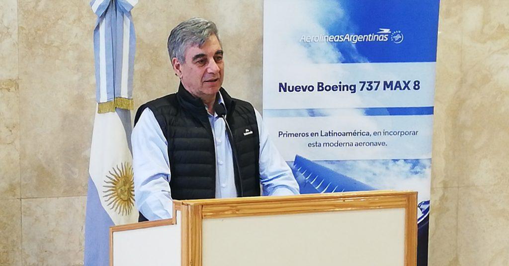 HANGAR X - Mario Dell'Acqua Presidente Aerolíneas Argentinas