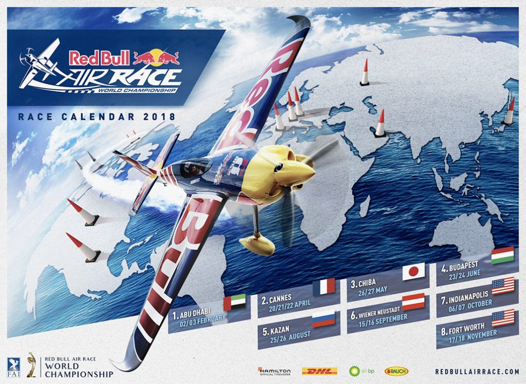 HANGAR X - Red Bull Air Race Calendar 2018