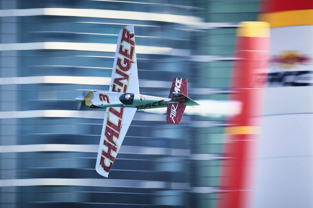 HANGAR X - Red Bull Air Race Challenger Class Pilot Florian Berger (Ph: Andreas Langreiter/RBAR)