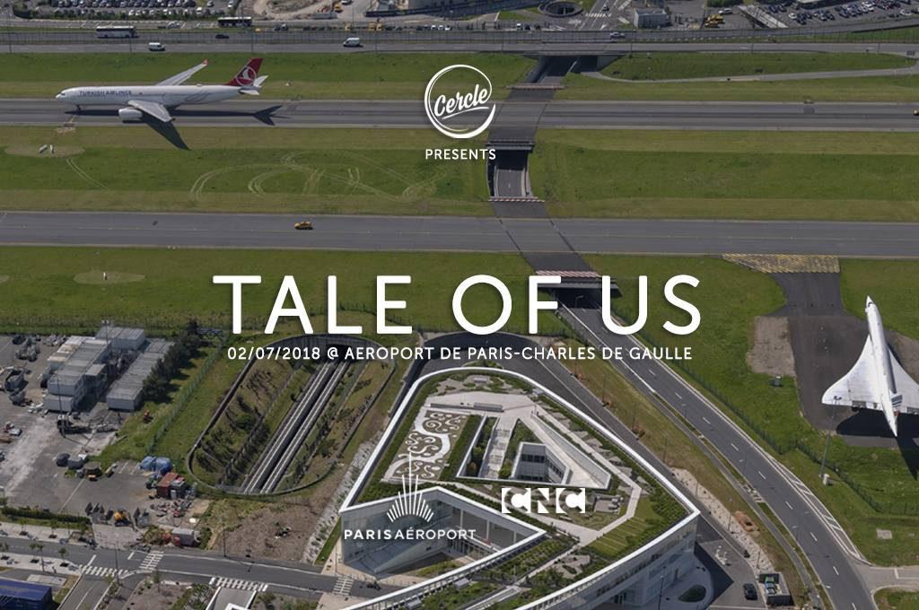 """HANGAR X - El increíble Set de """"Tale Of Us"""" en el Aeropuerto Charles de Gaulle de Paris"""
