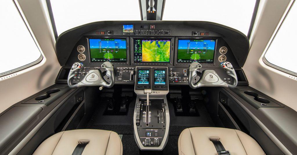 HANGAR X - Mockup Cessna Denali (Cockpit)
