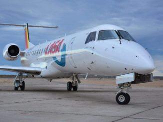 HANGAR X - LASA realizó su primer vuelo desde Neuquén