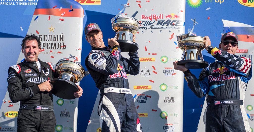RED BULL AIR RACE 2018 - Martin Sonka obtiene su segunda victoria en Kazán