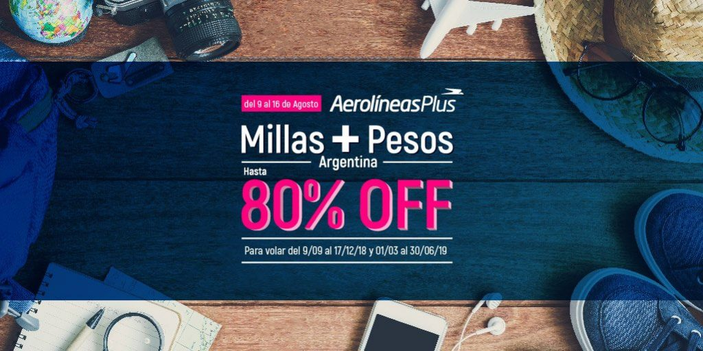 HANGAR X - Aerolíneas Argentinas extiende la promoción con descuentos promedio del 50%