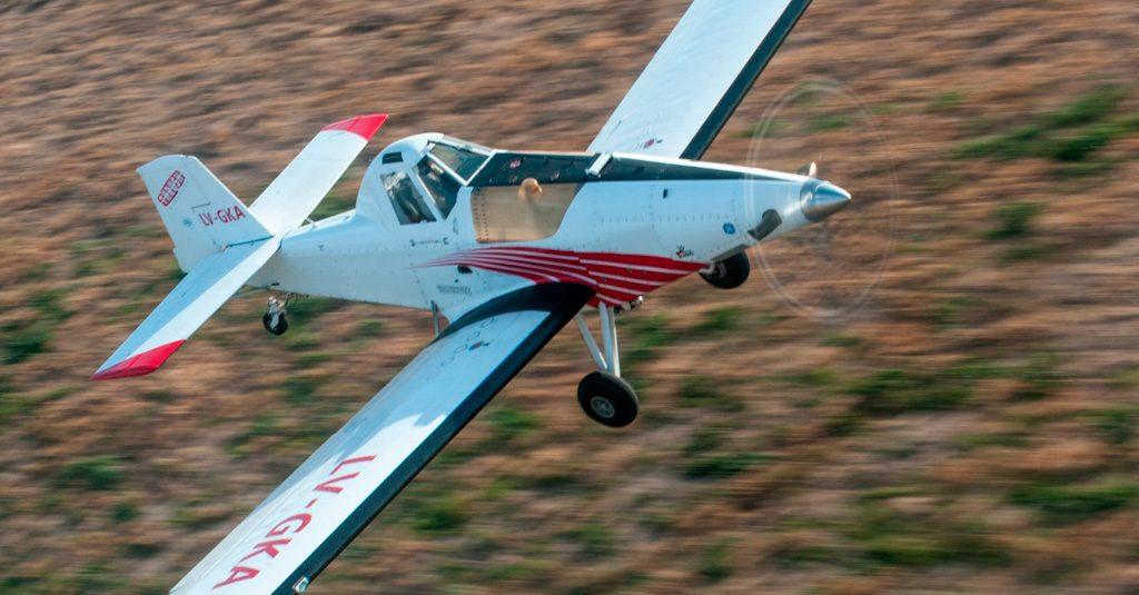Thrush Aircraft 510G, sobrevolando el Congreso Latinoamericano de Aviacion Agricola 2018