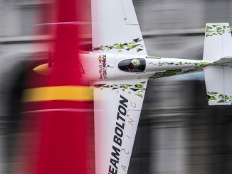 Cristian Bolton (CHILE), piloto del Red Bull Air Race