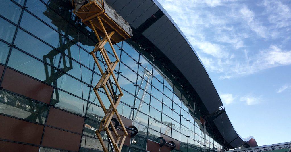 HANGAR X - Obras del nuevo Aeropuerto Internacional de Santiago de Chile