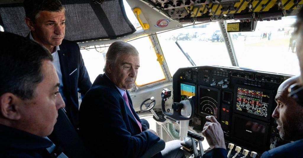 Hércules C-130 TC70 Fuerza Aérea Argentina