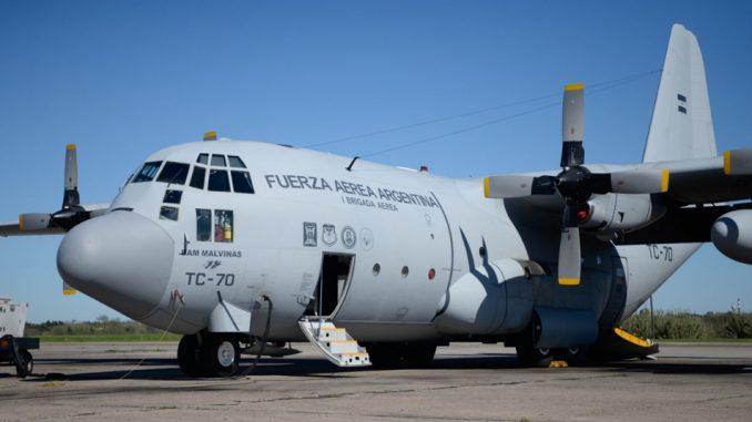 Presentaron el primer Hércules C-130 modernizado en FAdeA
