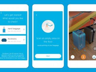 Nueva App de KLM para comprobar el tamaño de tu equipaje de mano