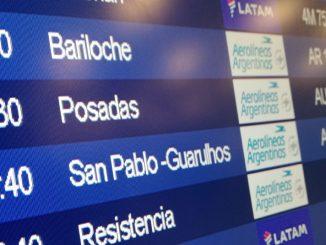 Horarios de vuelos Aerolíneas Argenitnas en Aeroparque