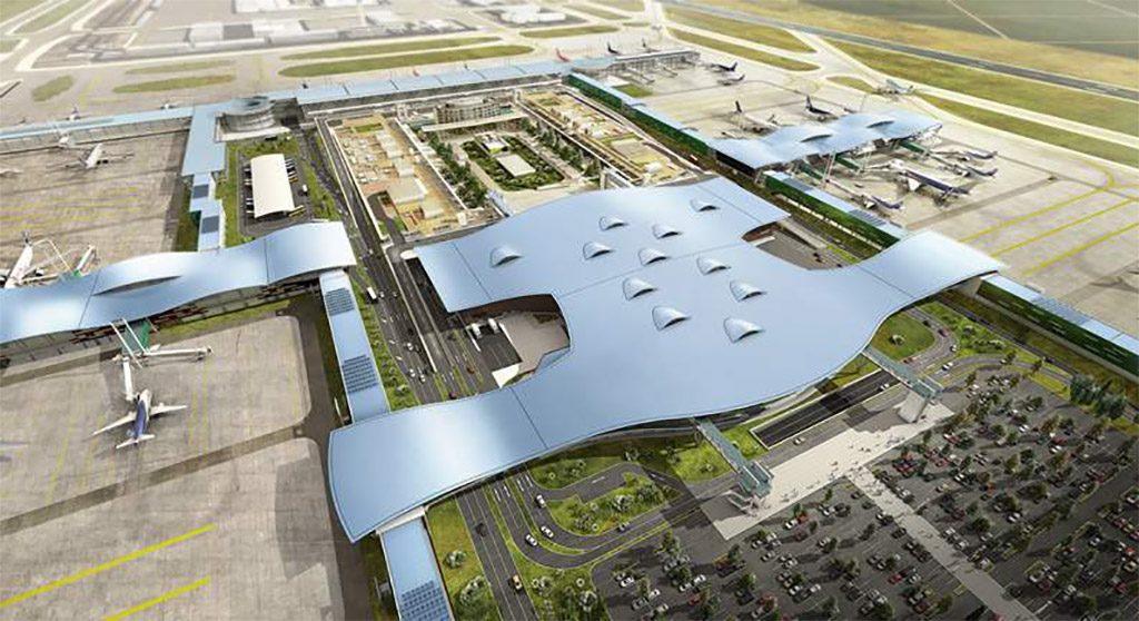 HANGAR X - Avanzan las obras en el Aeropuerto Internacional de Santiago de Chile