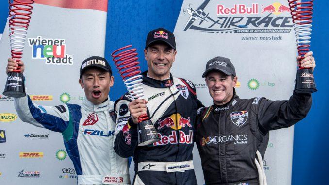 HANGAR X - RED BULL AIR RACE 2018 - Martin Sonka obtiene su tercer victoria consecutiva en Austria