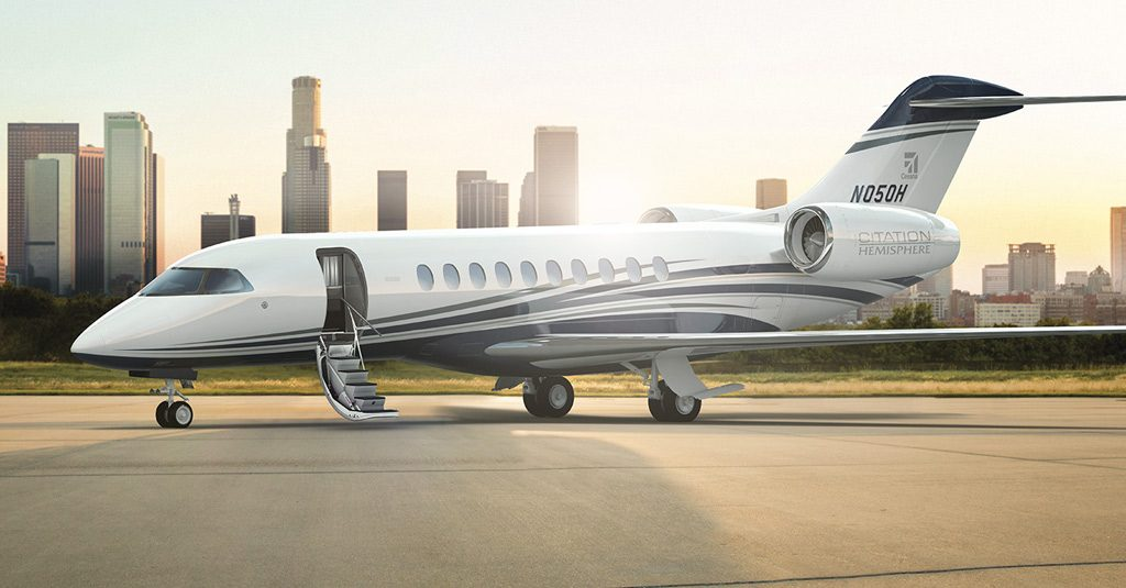 Cessna Citation Hemisphere By Textron Aviation (Render)