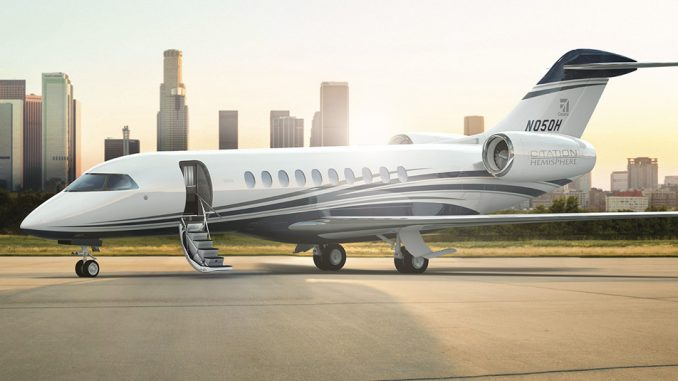 Cessna Citation Hemisphere By Textron Aviation (Render)