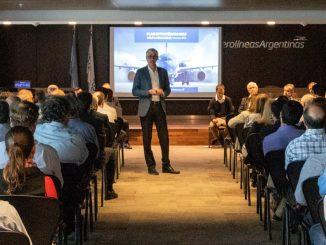 HANGAR X - Aerolíneas Argentinas presentó su nuevo plan estratégico