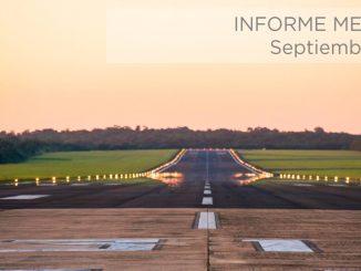 El mejor Septiembre de la historia en el transporte aéreo de Argentina