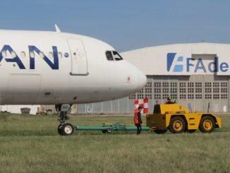 AIRBUS A320 LATAM Argentina en FAdeA