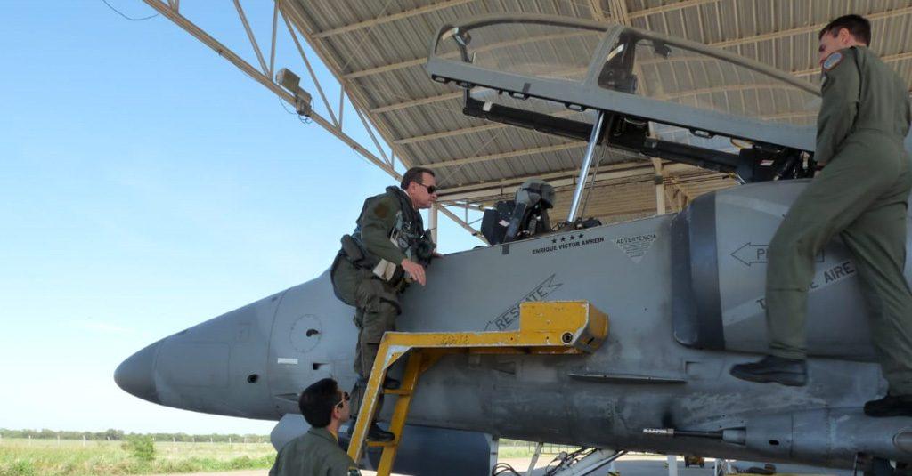 HANGAR X - Fuerza Aérea Argentina, Brigadier General Victor Amrein