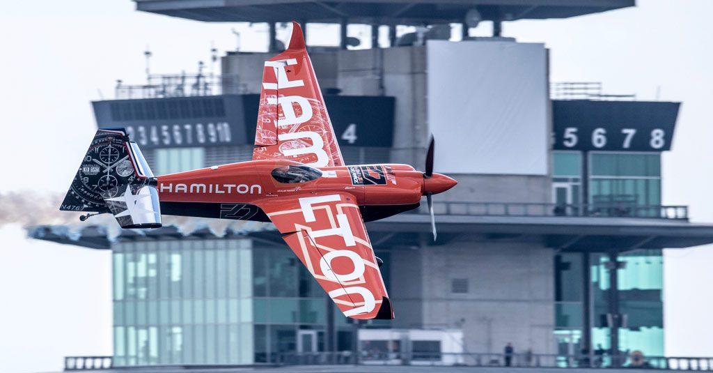 Red Bull Air Race 2018 - Nicolas Ivanoff Hamilton Watches