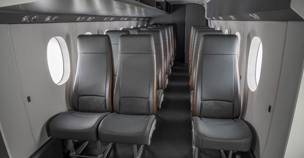 HANGAR X - Textron Aviation presentó el mock-up del nuevo Cessna SkyCourier