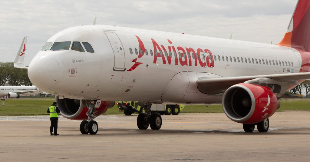 HANGAR X - Avianca Argentina recibió su primer Airbus A320