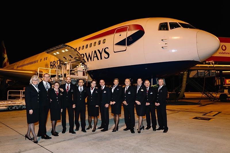 British Airways se despidió del último Boeing 767 de su flota