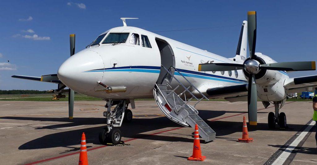 "HANGAR X - Gulfstream G1 del ""Proyecto Relampago - CACTI"""
