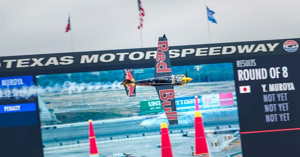 Red Bull Air Race 2018 - Fort Worth, Texas - Kirby Chambliss