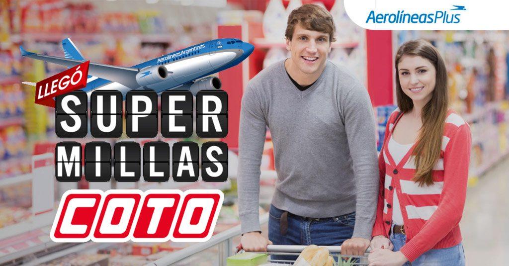 HANGAR X - Aerolíneas Argentinas y Supermercados COTO se unen para potenciar el programa Aerolíneas Plus