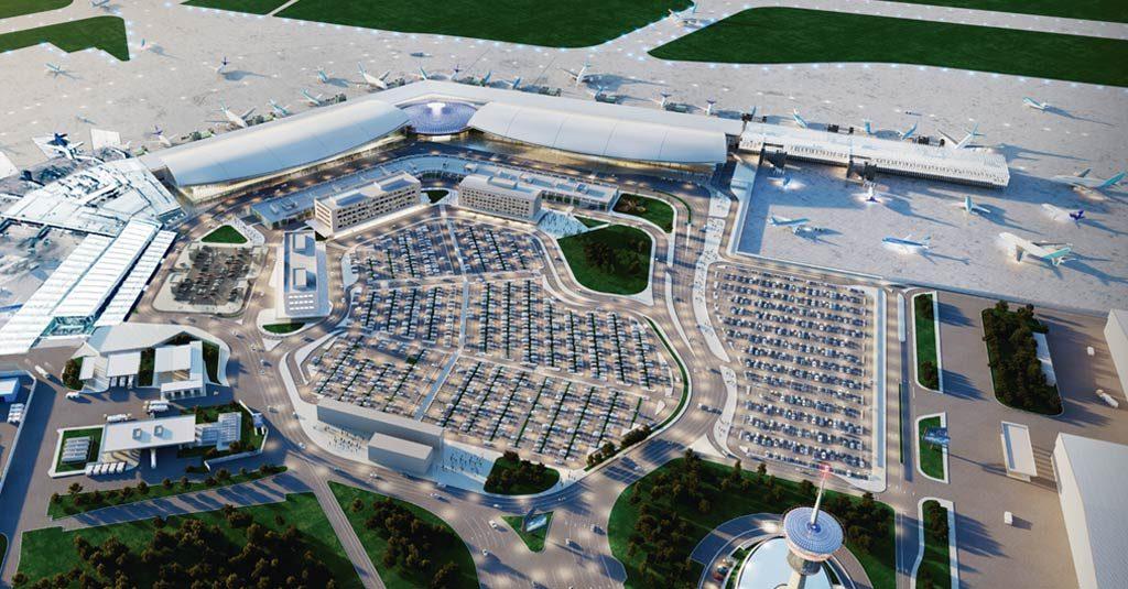 "HANGAR X - Aeropuertos Argentina 2000 presentó el ""Plan Integral Ezeiza"""
