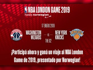 "HANGAR X - Norwegian te lleva a Londres para asistir al ""NBA London Game 2019"""