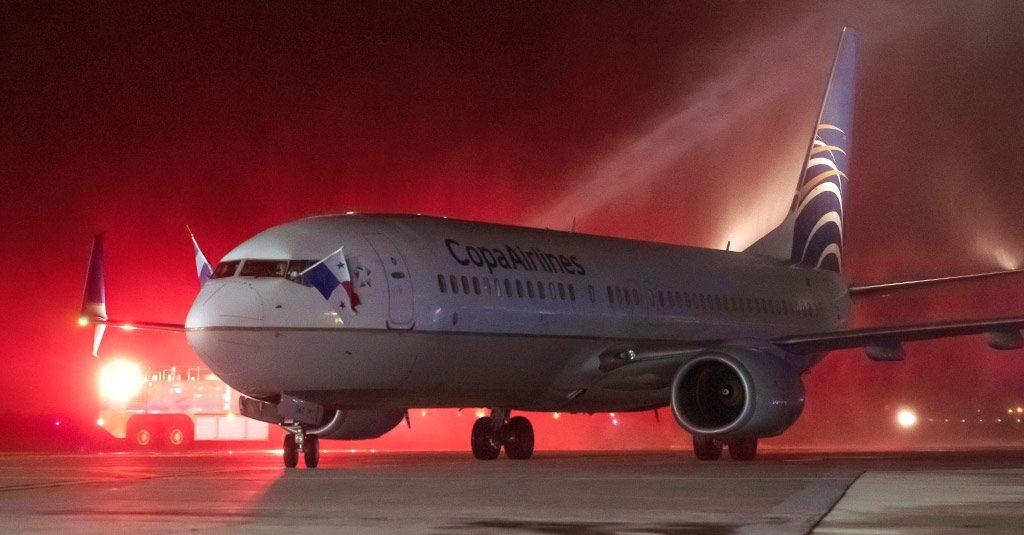 HANGAR X - Copa Airlines inauguró sus vuelos entre Salta y Panamá
