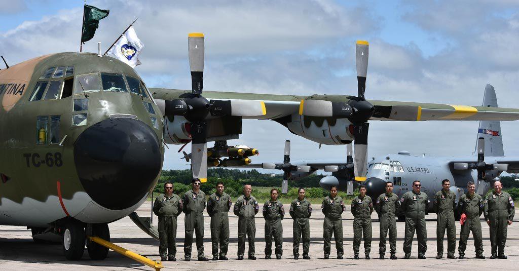HANGAR X - Hércules C130 - Fuerza Aérea Argentina