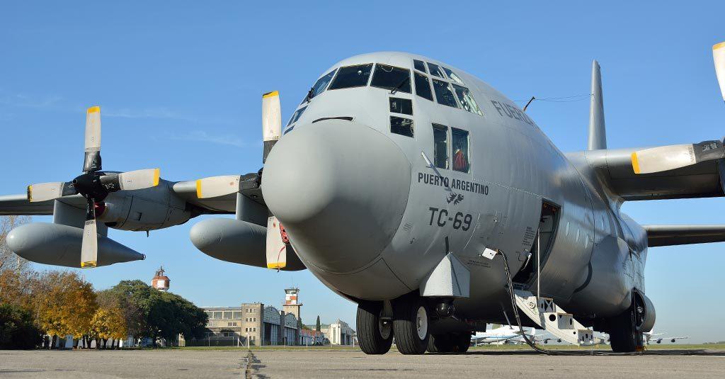 HANGAR X - Hércules C130 TC-69 Fuerza Aérea Argentina