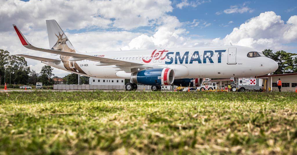 Airbus A320 LV-HEK / Jet SMART Argentina