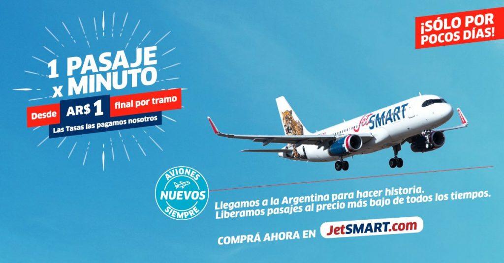 Jet SMART Argentina / Promo lanzamiento