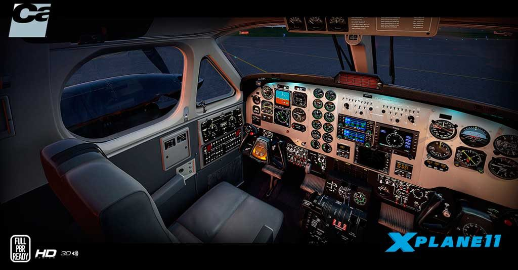 Aerosoft - Beechcraft King Air 200