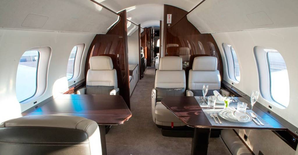 Bombardier Global 7500 - Interior