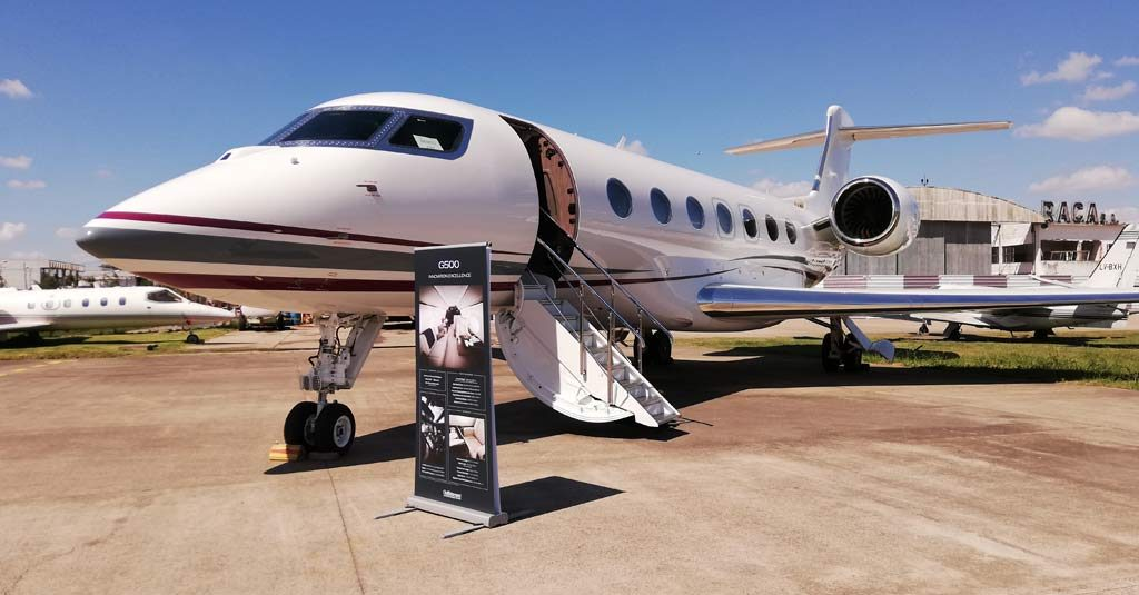Gulfstream G500 Buenos Aires Demo Tour Marzo 2019