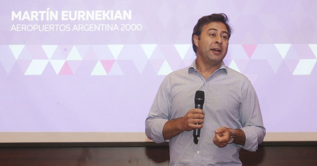Martín Eurnekian, Presidente de Aeropuertos Argentina 2000