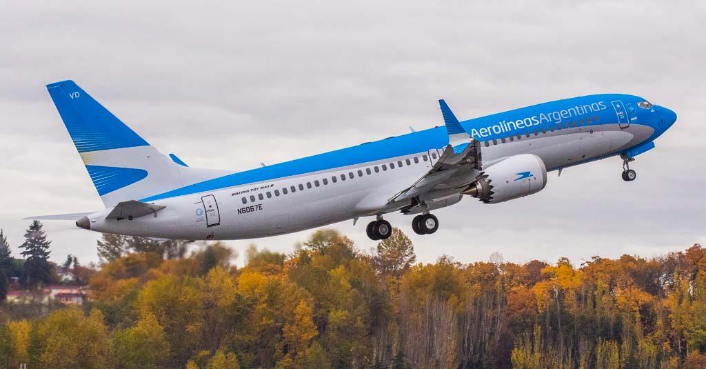 Aerolíneas Argentinas - Boeing 737-MAX8 N6067E