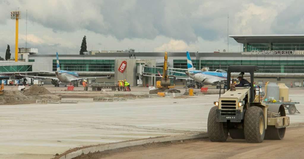 Aeropuerto Internacional de Córdoba (SACO) - Obras Abril 2019