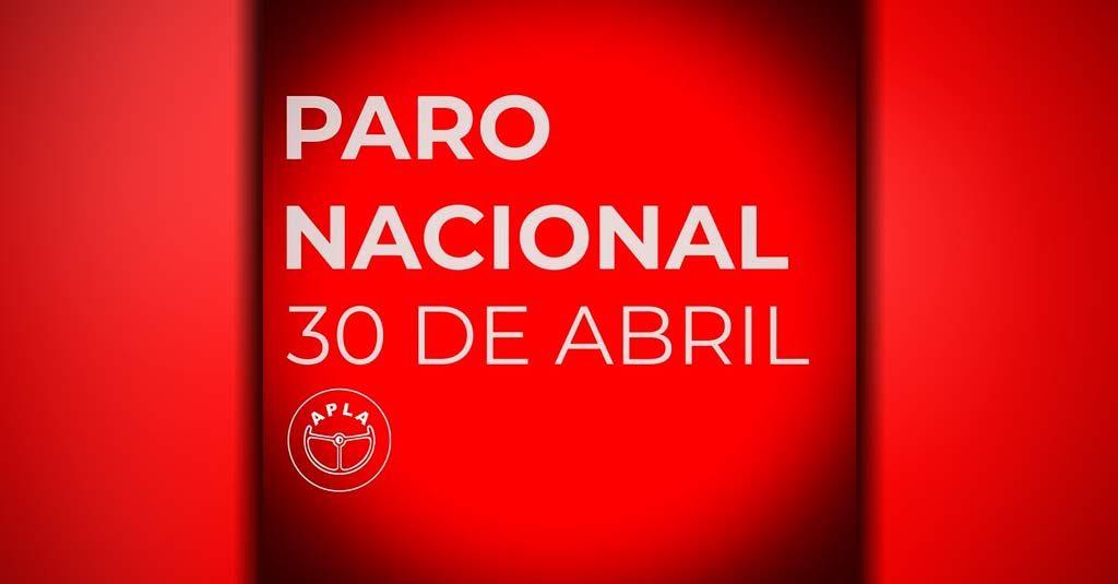 Asociación de Pilotos de Líneas Aéreas Paro Nacional 30 de Abril CTA